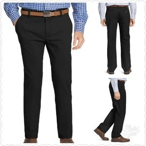 IZOD Straight-fit performance + Flat-front Chino
